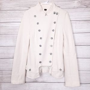 We the Free Majorette lace up military jacket